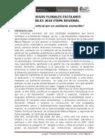 JUEGOS FLORALES  20166666