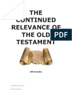 The Continued Relevance of the Old Testament