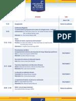 Programa del 2do. Encuentro Regional de Tutoría ANUIES RCO