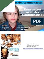Le magazine des communautés, numéro 1