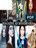 Magazine Advert Moodboard (PDF)