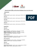 Lista Manuale Aprobate Limba Engleza Actualizata 2016
