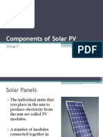 Components of Solar PV