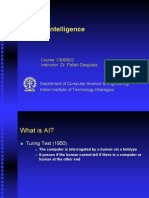 Artificial Intelligence - IIT Kanpur