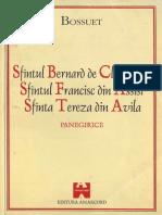 Jaques Benigne Bossuet - Panegirice PDF