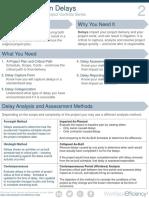 Delay Log Construction Delays Efficiency Notes Project Controls Series