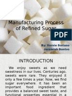 Manufacturing Process of Refined Sugar