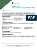 TDS_SF855-LR Soldering Flux