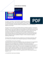 EPRG Framework in International Marketing