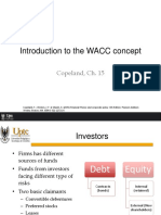 Introduction to WACC