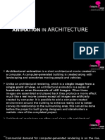 Animation in Architecture