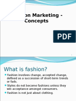 Fashion Marketing - CONCEPTS