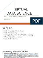 7 - Conceptual Data Science
