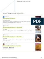 Mermelada de Platano - 25 Recetas Caseras - Cookpad