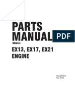robin ex13 parts manual
