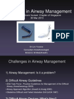 Challenges in Airway Management