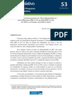 """AS INCONSTITUCIONALIDADES DO """"NOVO REGIME FISCAL"""" INSTITUÍDO PELA PEC Nº 55, DE 2016 (PEC Nº 241, DE 2016, NA CÂMARA DOS DEPUTADOS)"""