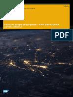 SAP BW4HANA Feature Scope Description En