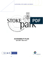 Accessibility Plan 09-12