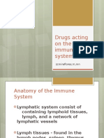 Drugs Acting on the Immune System