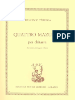 Francisco Tarrega. Mazurcas..pdf