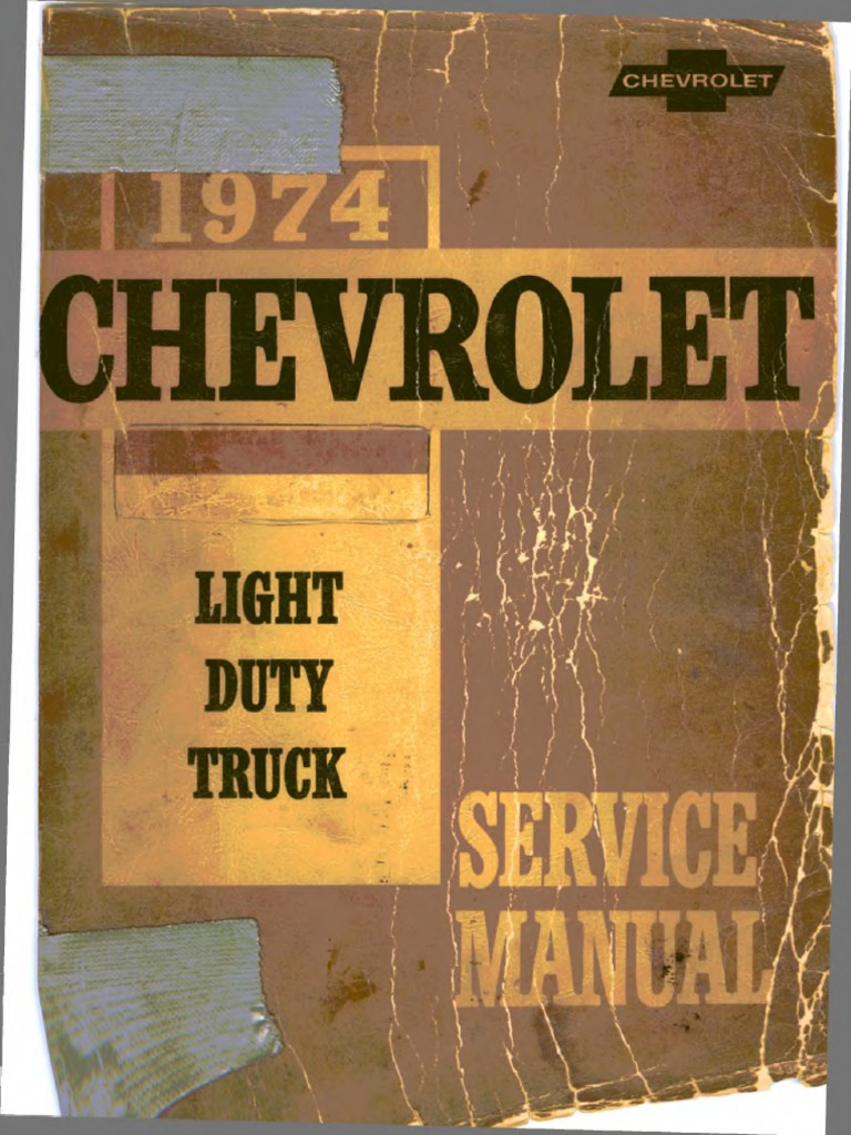 St 330 74 1974 chevrolet light truck service manual transmission st 330 74 1974 chevrolet light truck service manual transmission mechanics motor oil fandeluxe Choice Image
