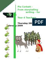 Pie Corbett - Teaching Writing in Y 3