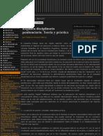 Revista de Derecho Penal Procesal Penal y Criminologia - Ejecucion - Regimen Disciplinario Peniten
