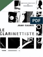 Le Clarinettiste - Jean Calmel