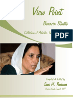 View Point Benazir Bhutto