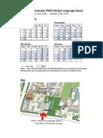 Calandar & Map (2016Fall)