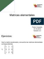 Matrices Elementales Parte (9)