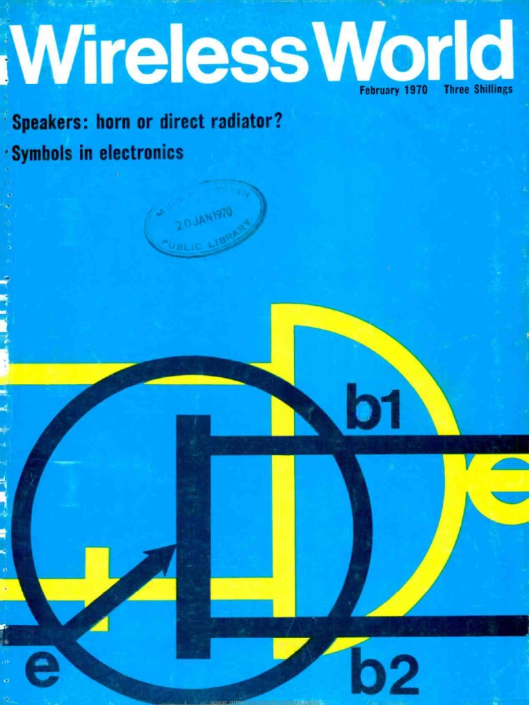 Wireless World 1970 02 | Microphone | Loudspeaker