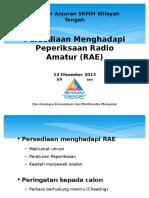 Seminar RAE Dan Teknik Jawap