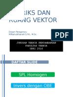 Pert 6-7 SPL Homogen Dan Invers