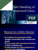 Safe Handling of Gases