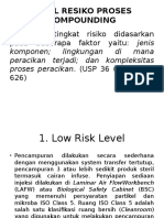 Ppt Level Resiko Proses Compounding