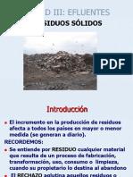Unidad III-residuos Solidos 2015