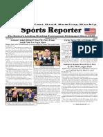 November 16 - 22, 2016  Sports Reporter