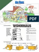 Das Haus Prepositionen