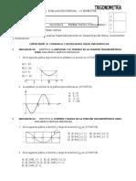 Examen Parcial 4A  - Trigonometría IV.doc