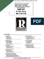 Minsel P-101 Engine Parts Book
