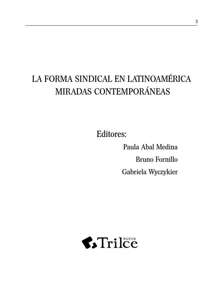 2012-La forma sindical a debate en AL.pdf