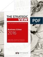 Strategic View Business Crime 2016