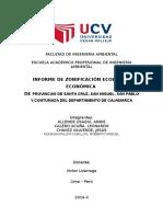 Informe ZEE Provincias de Cajamarca