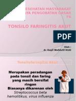PP Tonsilofaringitis Akut