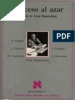 Proceso Al Azar - Jorge Wagensberg (Ed.)