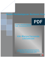 Model Pembelajaran Berbasis Portofolio