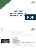 Derecho Procedimental Administrativo