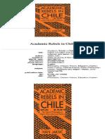 Academic Rebels in Chile Ivan Jaksic